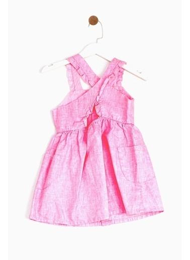 BG Baby Kız Bebek Pembe Elbise 19SS1BG2917 Pembe